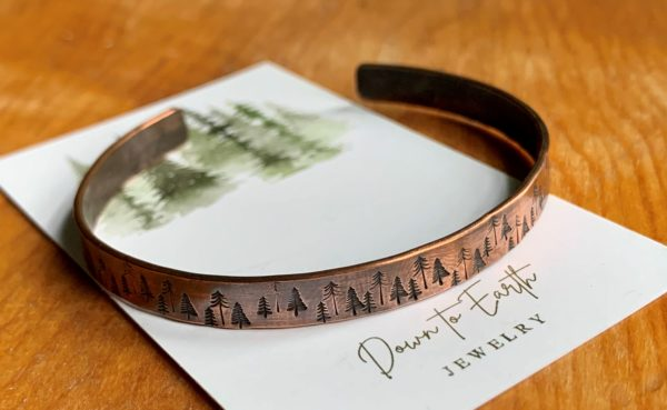 Tiny trees copper cuff bracelet 2 scaled